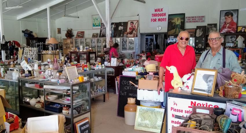 second hand store with thousands of items in it