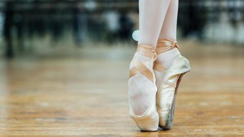 Picture of ballet shoes