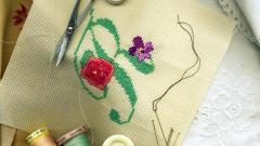 Picture of embroidery